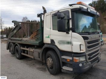 Skip loader truck Scania P400