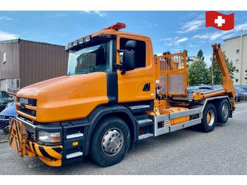 Scania T14 GB 6x2*  - skip loader truck