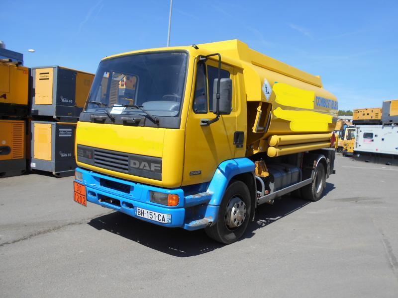 tank truck DAF FA55 210