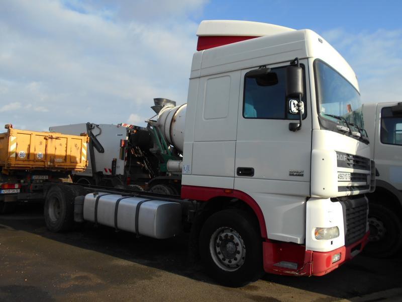tank truck DAF XF95 480