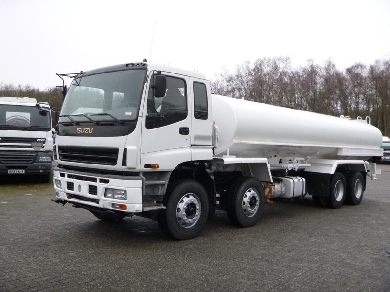 Tank truck Isuzu CYH6MF 8x4 water tank steel 21 5 m3 / 1 comp - Truck1 ID:  3625039