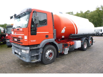 Iveco EuroTech MH260E27Y 6x2 fuel tank alu 21 m3 / 4 comp - tank truck