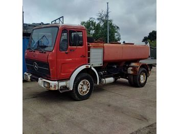 MERCEDES-BENZ 1613 left hand drive 6 cylinder 7000 litres WATER - tank truck