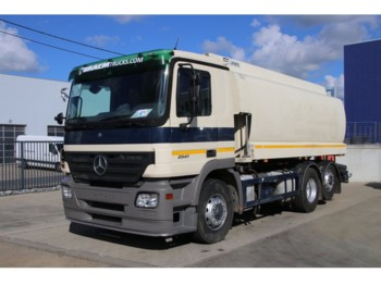 Tank truck Mercedes-Benz ACTROS 2541 + TANK 18500 L ( 5 comp. ): picture 1