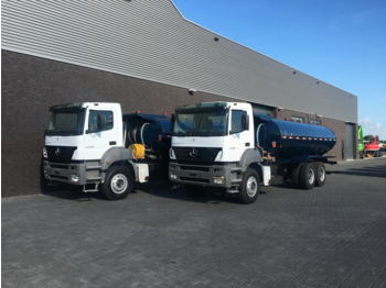 Tank truck Mercedes-Benz AXOR 3340 6X4 WATERTANKERS