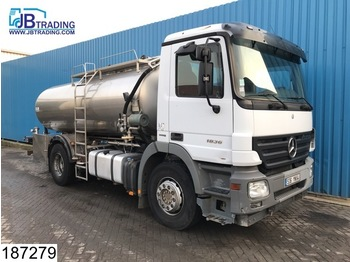 Mercedes-Benz Actros 1836 11000 liter, 2 Compartments, Isolated Food tank, EPS 16, 3 Pedals, euro 4 - tank truck