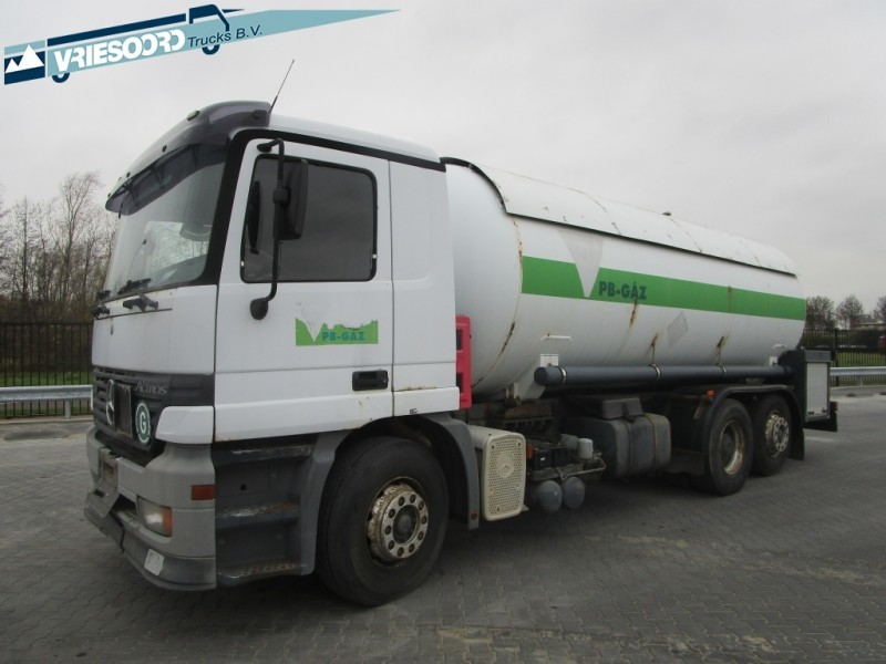Mercedes-Benz Actros 2535 GAS TANK tank truck from Netherlands for ...