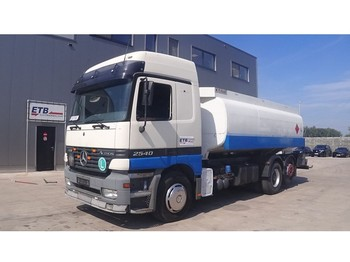 Mercedes-Benz Actros 2540 (BIG AXLE / 18100L / 3 COMPARTMENTS / 6X2) - tank truck