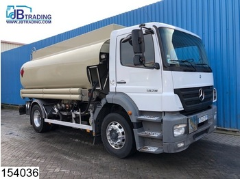 Tank truck Mercedes-Benz Axor 1828 Fuel tank, 14420 liter, Liquid meter, 2 compartments, ADR, max 8 Bar