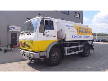 Tank truck Mercedes-Benz SK 1617 (BIG AXLE / STEEL SUSPENSION / 12470 L / 2 COMPARTMENTS)