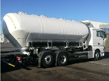NEW MAN TGX 26.460 6x2 - SPITZER 31 m3, 4 chamber SILO NEW FOR FLOUR AND ANIMAL FOOD - tank truck