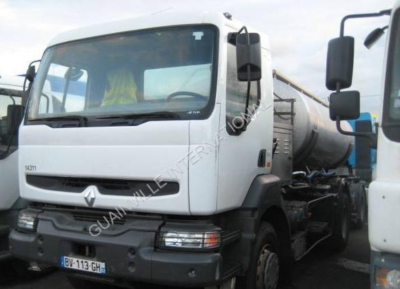 tank truck Renault Kerax 270
