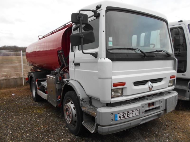 tank truck Renault Midlum