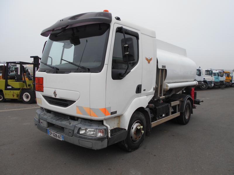 tank truck Renault Midlum 180