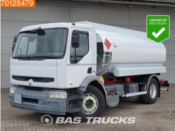 Tank truck Renault Premium 250 4X2 Manual ADR Pumpe 4-Compartments