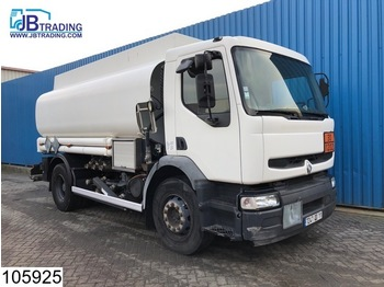Renault Premium 270 Fuel tank, 14000 Liter, 3 Compartments, Manual, Airco, Steel suspension, ADR - tank truck