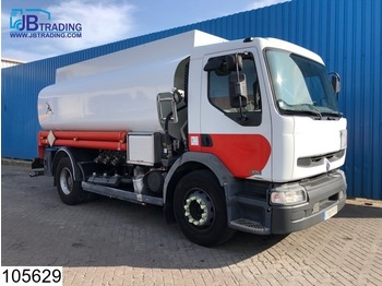Tank truck Renault Premium 270 Fuel tank, 14000 Liter, 3 Compartments, Steel suspension, Airco, ADR, Hub reduction,