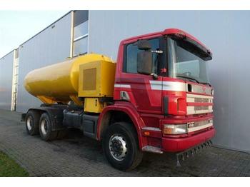 Scania P114.340 6X6 MANUAL FULL STEEL HUB REDUCTION WAT  - tank truck