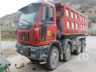 ASTRA HD8 84 45 8x4 tipper from Italy for sale at Truck1, ID: 2115682