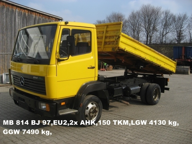 Camion Mercedes Benz 814 Tipper From Romania For Sale At