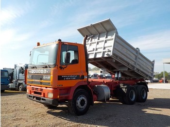 Tipper DAF 85 ATI 360 (BIG AXLE/ FULL STEEL/ MANUAL PUMP)