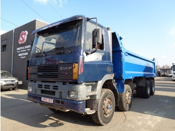 Tipper DAF 85 CF 330 manual pump
