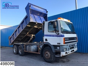 Tipper DAF 85 CF 340 EURO 2, 6x4, Manual, Steel suspension, Hub reduction: picture 1