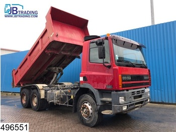 DAF 85 CF 340 EURO 2, 6x4, Manual, Steel suspension, Hub reduction - tipper