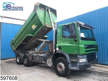 DAF 85 CF 380 6x4, Manual, Steel suspension, Hub reduction, Airco, Analoge tachograaf - tipper