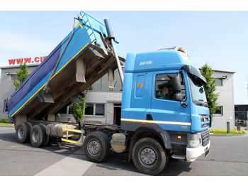 Tipper DAF 8x4 CF 85.410 TIPPER RIGHT HAND DRIVE