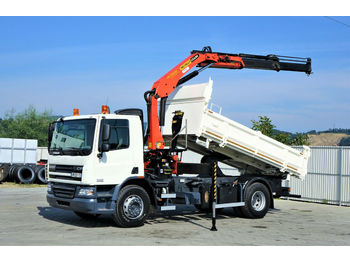 DAF  CF 75.310 *Kipper+Bordmatic 4,80m+Kran!  - tipper