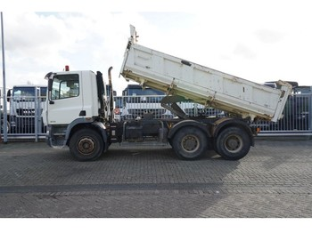 DAF CF 85.340 6X4 3 SIDE TIPPER MANUAL GEARBOX STEEL SUSPENSION 268.000KM - tipper