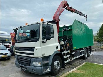 Tipper DAF CF 85.360 6X2 MANUAL EURO 5 + HMF 1250 K2 MET RE