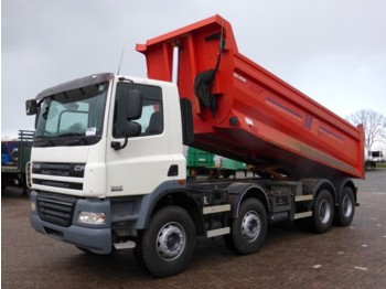 Tipper DAF CF 85.410 8X4, MANUAL