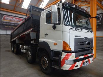 Tipper HINO 700 SERIES 8 X 4 STEEL TIPPER - 2013 - PY63 JVJ