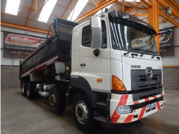 Tipper HINO 700 SERIES 8 X 4 STEEL TIPPER - 2013 - PY63 JVK: picture 1