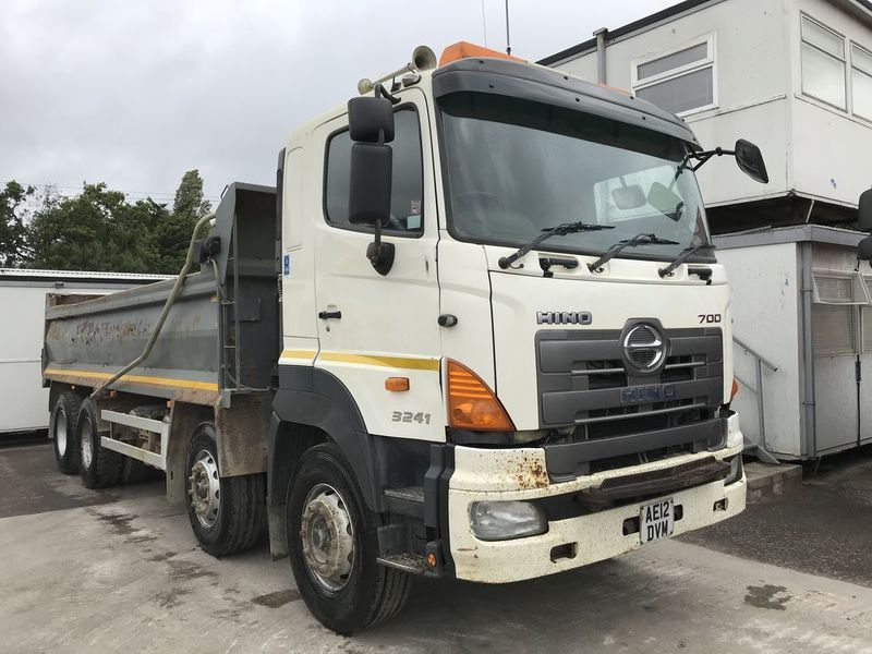 Hino 700 Series Tipper From United Kingdom For Sale At Truck1 Id 3655556