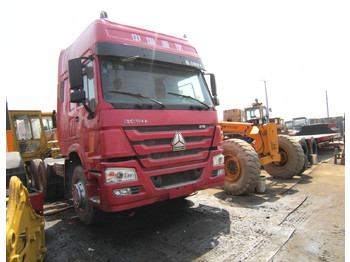 HOWO 375 HEAD TRUCK - tipper