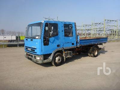 a091d458bd IVECO EUROCARGO ML75E14 4x2 Crew Cab tipper from Netherlands for ...