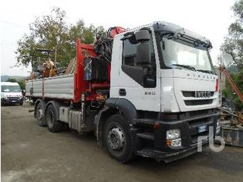 IVECO STRALIS 360 6x2 - tipper