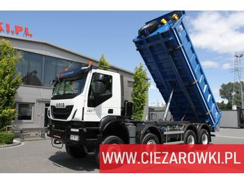 IVECO Trakker , 8x8 , E6 , Retarder , manual, 2018 , 5 units for sale - tipper