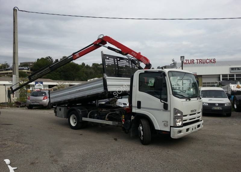 isuzu n series p75 tipper from france for sale at truck1 id 1842510. Black Bedroom Furniture Sets. Home Design Ideas