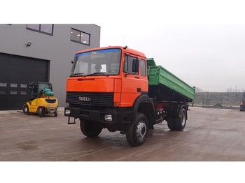 Iveco 170 - 23 (GRAND PONT / SUSPENSION LAMES / V8-MOTEUR / 4X4) - tipper
