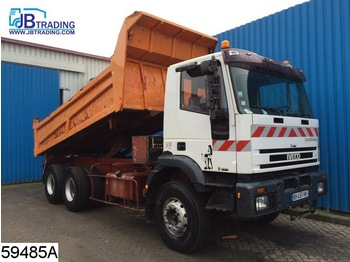 Tipper Iveco 330E34 Eurotrakker, 6x4, Manual, Steel suspensio