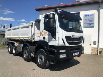 Iveco AD340X48Z 8x4 X-Way Kipper Bordmatik Intarder  - tipper