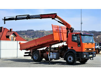 Iveco EUROTECH 270 Kipper 5,20m + Kran*4x2*Topzustand  - tipper