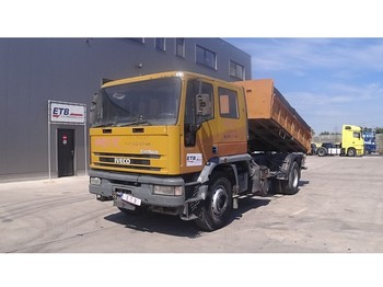 Tipper Iveco Eurotech 180 E 24 (FULL STEEL SUSPENSION / MANUAL PUMP)