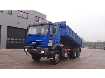 Iveco Eurotrakker 260 E 30 (BIG AXLE / STEEL SUSPENSION / MANUAL PUMP / 6X6) - tipper