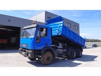 Tipper Iveco Eurotrakker 260 E 34 (BIG AXLE / STEEL SUSPENSION / MANUAL PUMP)