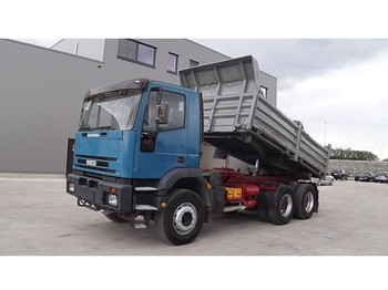 Tipper Iveco Eurotrakker 260 E 37 (BIG AXLE / STEEL SUSPENSION / PERFECT)